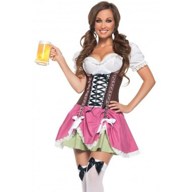 Swiss Girl Oktoberfest Costume