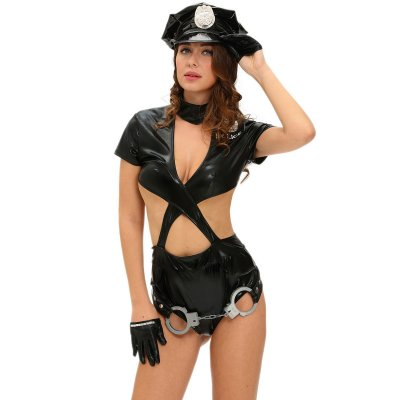 Police Woman Sexy Cop Halloween Costume