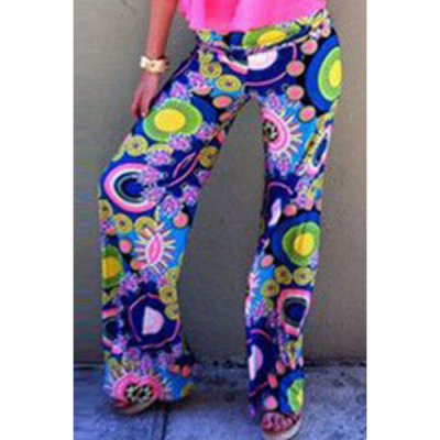 Colorful Ocean World Palazzo Pants