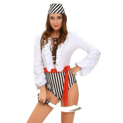 Naughty Pirate Scoundrel Costume