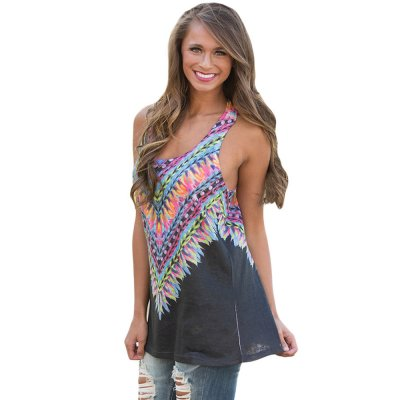 Black Kaleidoscope Dreams Tank