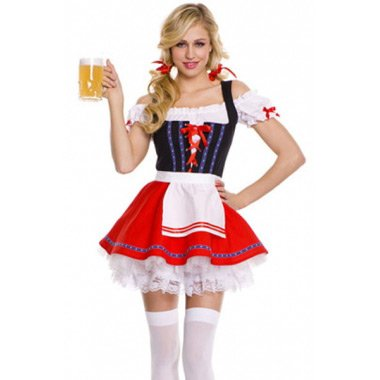 Sumptuous Beer Girl Oktoberfest Costume