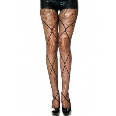 Net Accent Fishnet Pantyhose