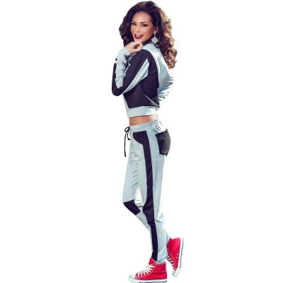 Stylish Colorblock Women Tracksuit